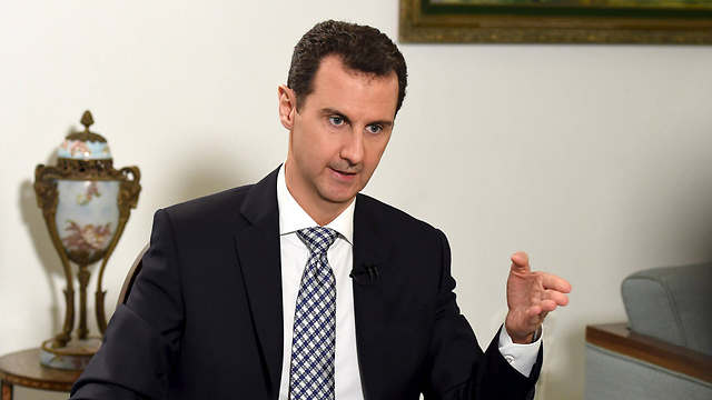 Syrian President Bashar Assad. A message to Israel (Photo: Reuters)