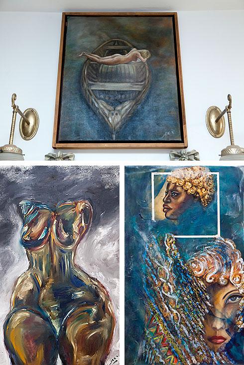 בעשרים השנים האחרונות מקדישה עשת את זמנה לציור ולאמנות (צילום: ענבל מרמרי)