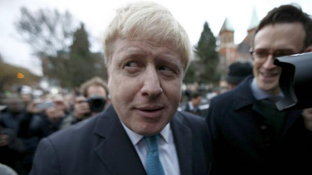 תומך בפרישה מהאיחוד האירופי. ראש העיר לונדון בוריס ג'ונסון (צילום: רויטרס)
