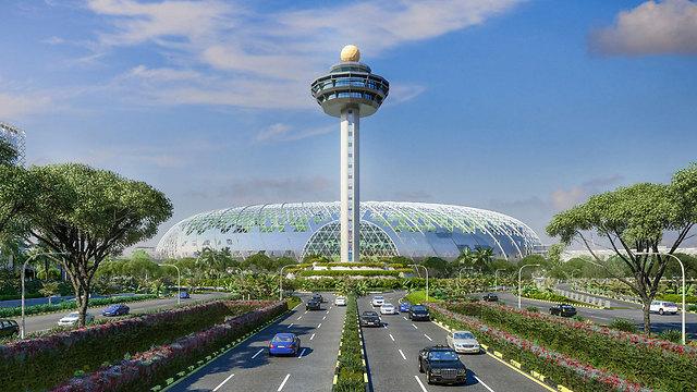 טרמינל JEWEL החדש בצ'אנגי, סינגפור