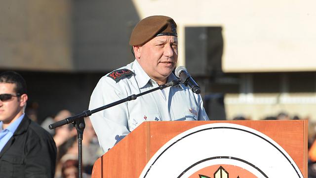 Chief of Staff Gadi Eisenkot (Photo: Yisrael Yosef)