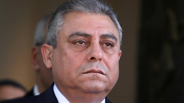 Egyptian Ambassador to Israel Hazem Khairat (Photo: AFP)