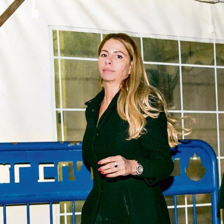 ענבל אור ביציאה מבית המשפט השבוע | צילום: אוהד צויגנברג