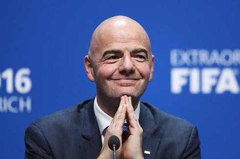 """""""למען המשחק, למען העולם"""". נשיא פיפ""""א ג'יאני אינפנטינו (צילום: getty images) (צילום: getty images)"""