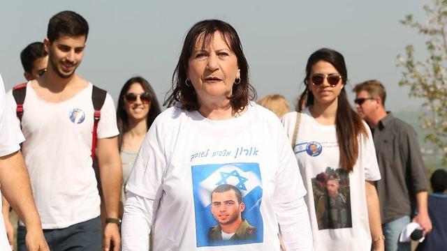 זהבה שאול, בצעדה שהתקיימה בשנה שעברה (צילום: אלעד גרשגורן) (צילום: אלעד גרשגורן)