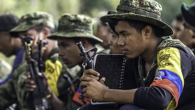 FARC members (Photo: AFP)