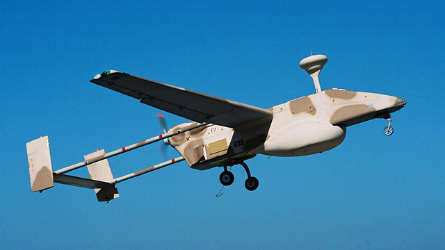 An IAI drone alleged to be the same model seen in the image (Photo: Israel Aerospace Industries)