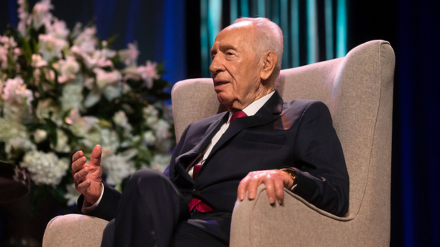 Shimon Peres (Photo: AFP)