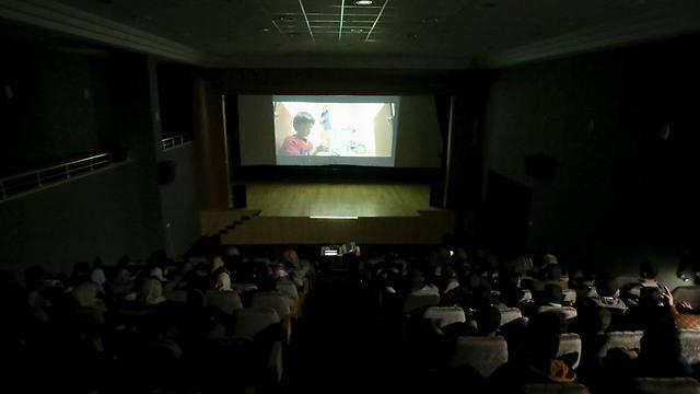 A Gazan film theater (Photo: Reuters)