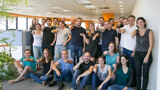 """עובדי חברת VONAGE  (צילום: יח""""צ) (צילום: יח"""