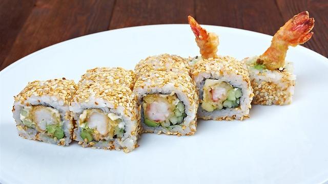 Shrimp sushi (file photo) (Photo: Shutterstock)