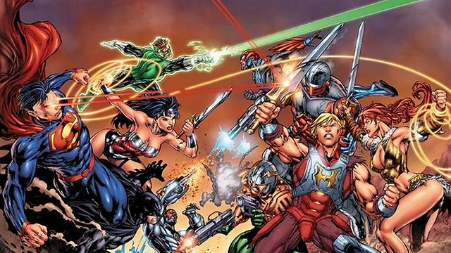 וונדר-וומן כחלק מליגת הצדק. כולם נלחמים בכולם (עטיפת הקומיקס) (עטיפת הקומיקס)