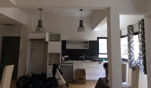 המטבח ''לפני''