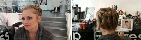 מעולה לדייט שלישי.Hair and Makeup Express