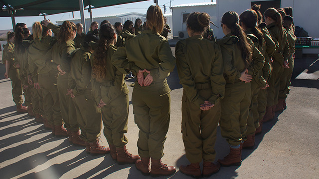Newly enlisted IDF recruits (Photo: IDF Spokesperson's Unit)