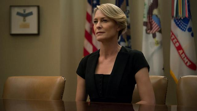 """בתפקיד קלייר אנדרווד. """"היא עיט"""" (צילום: נטפליקס) (צילום: נטפליקס)"""