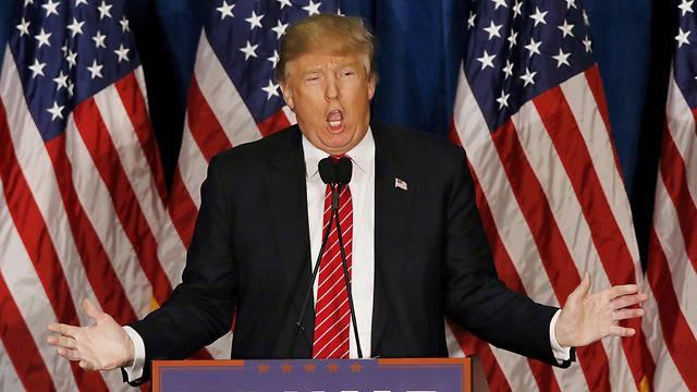 """""""לא לתייג איש טוב ואיש רע"""". טראמפ על ישראל והפלסטינים (צילום: רויטרס) (צילום: רויטרס)"""