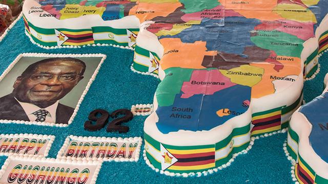 כל אפריקה שלך. בצורת עוגה (צילום: AFP) (צילום: AFP)