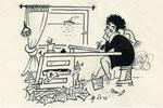 קריקטורה: עזבון פרידל שטרן, המוזיאון הישראלי לקריקטורה ולקומיקס, חולון