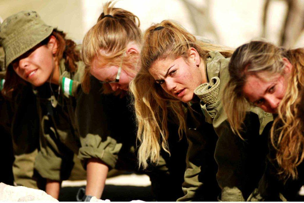 Female IDF soldiers (provided by the IDF archive; photo: Abir Sultan) (Photo: Abir Sultan)