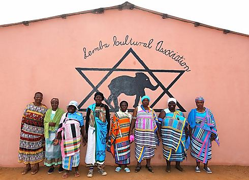 חברות בקהילת למבה שבלימפופו, דרום-אפריקה (צילום: דיוויד ג'ונו, Jono David) (צילום: דיוויד ג'ונו, Jono David)