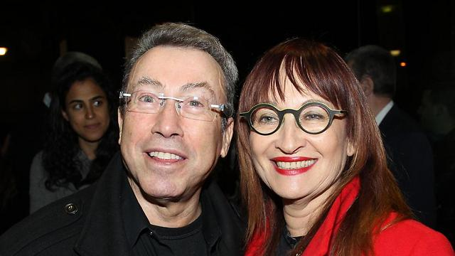 Tzipi Pines and Noam Semel. Regev intends on putting limits on their terms as theater managers. (Photo: Rafi Dalvia)