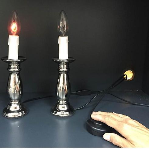 להדליק נרות בלי אש ()
