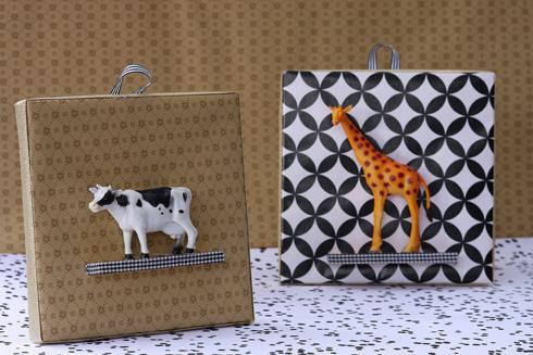 תמונות תלת ממד עם חיות צעצוע (צילום: אירית זילברמן)