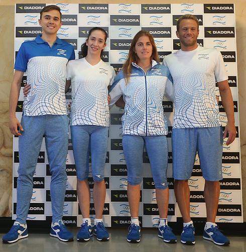 תצוגת האופנה של הוועד האולימפי (צילום: אורן אהרוני) (צילום: אורן אהרוני)