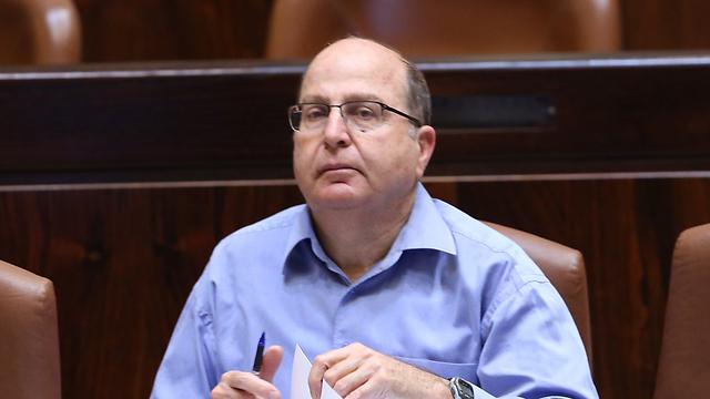 שר הביטחון משה יעלון (צילום: גיל יוחנן) (צילום: גיל יוחנן)