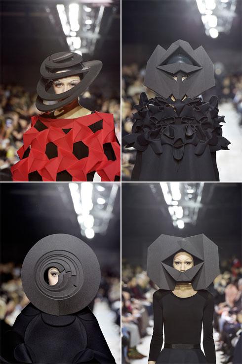 הכובעים גנבו את ההצגה. ג'וניה ווטאנבה (צילום: Gettyimages)