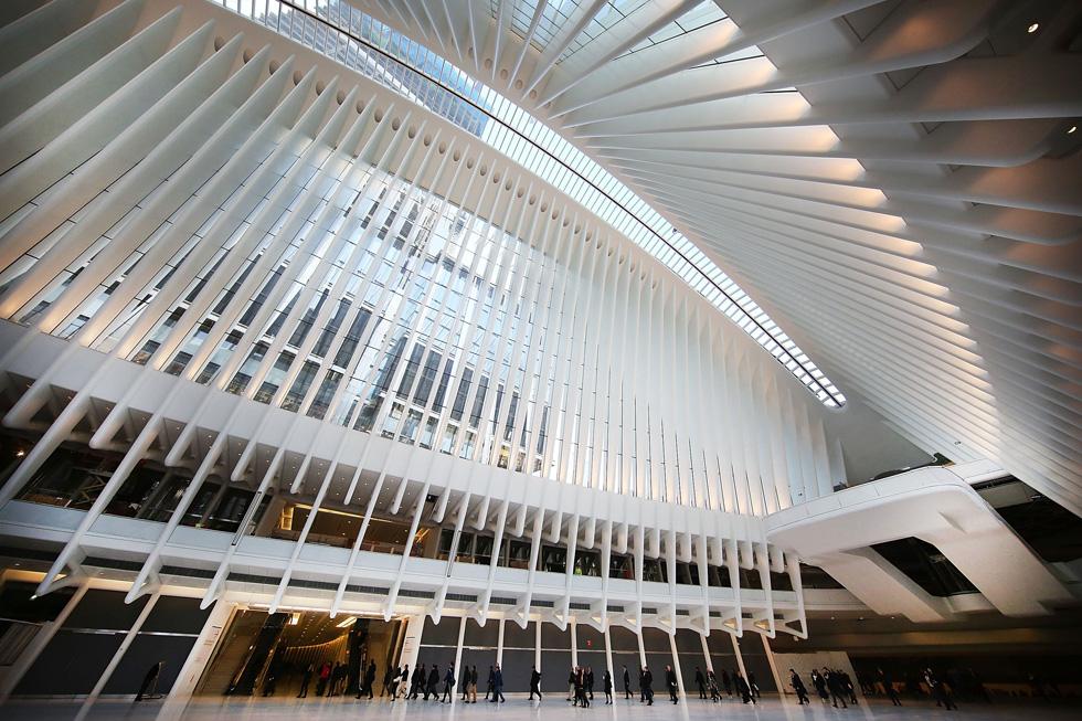 אפשר לשער שתחנת PATH החדשה תצליח להידחק לחבורה המצומצמת של מבנים ציבוריים מקורים ומוצלחים בניו יורק, ואולי גם תצליח להישאר בה לאורך זמן  (צילום: gettyimages)