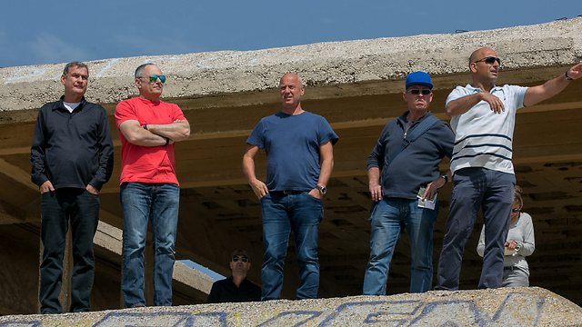 SJJ members during the tour. (Photo: Ohad Zwigenberg)