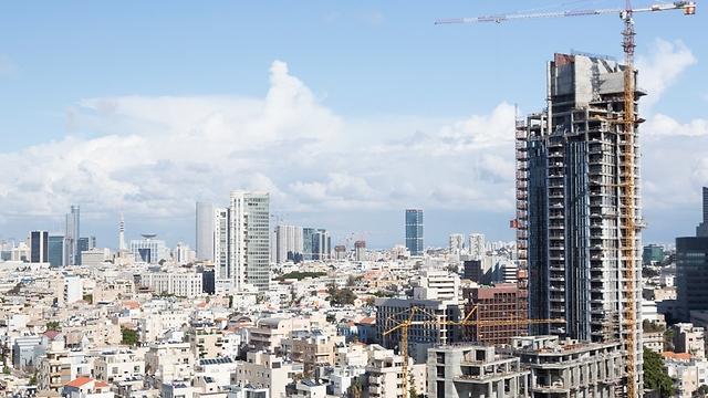 Construction in Tel Aviv (Photo: Gettyimages)