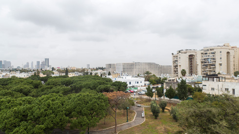 מתבלט בנוף של דרום תל אביב. לחצו לכתבה (Take-Air צילום אוויר: אורי אלוני)