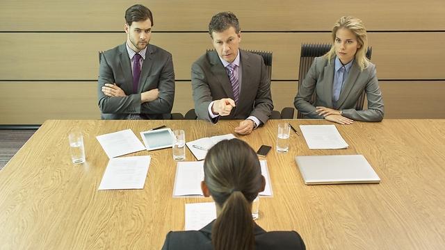 ראיון עבודה. הדוגמאות שלכם יראו איך תתנהגו (צילום: Gettyimages)