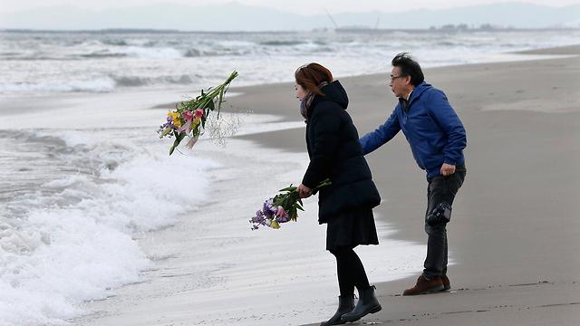 טקסי זיכרון ביפן (צילום: EPA) (צילום: EPA)