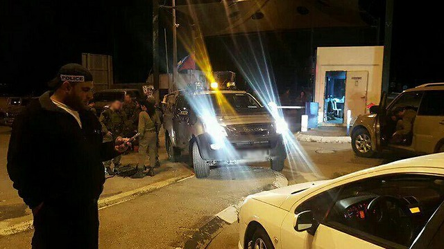 זירת פיגוע הירי, הערב (צילום: מצב בטחוני גלובאלי) (צילום: מצב בטחוני גלובאלי)