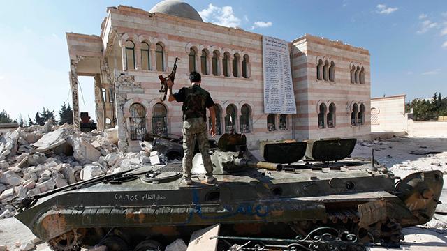 2012: עוד מכה לכוחות אסד  (צילום: AP) (צילום: AP)