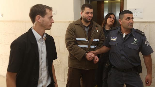 הסדר הטיעון נדחה על ידי בית המשפט. אבו גאנם (צילום: גיל יוחנן) (צילום: גיל יוחנן)