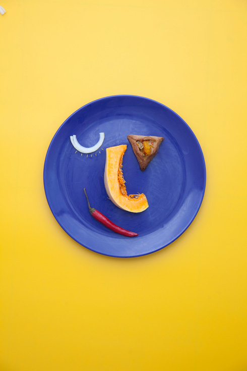 אוזני המן במילוי דלורית, בצל וצ'ילי (צילום: יעל אילן)