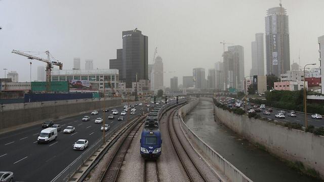 ומה עם הזיהום בתל אביב? (צילום: עידו ארז)