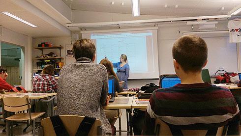 להתקבל להוראה בפינלנד זו לא משימה פשוטה (צילום: רועי ציקורל)