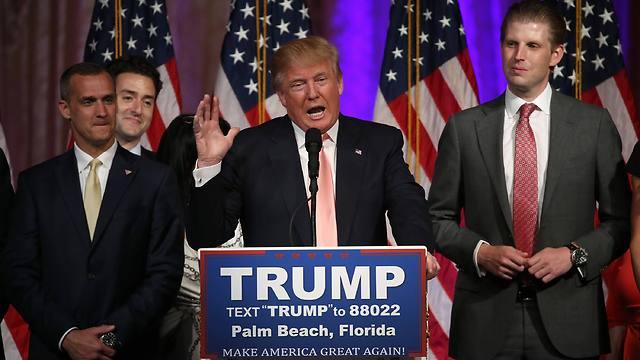 ממשיך לדהור עם שלושה ניצחונות משמעותיים. טראמפ (צילום: AFP) (צילום: AFP)