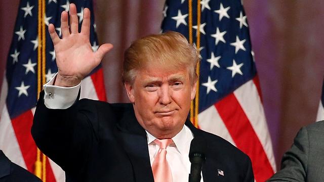 טראמפ, הלילה (צילום: AFP) (צילום: AFP)