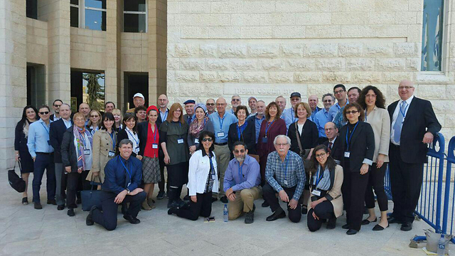 Participants of anti-BDS legal seminar