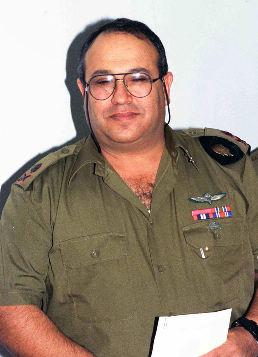 """מאיר דגן ז""""ל. שימש ב-1991 כראש אגף מבצעים במטכ""""ל (צילום: דובר צה""""ל, באדיבות ארכיון צה""""ל במשרד הביטחון) (צילום: דובר צה"""