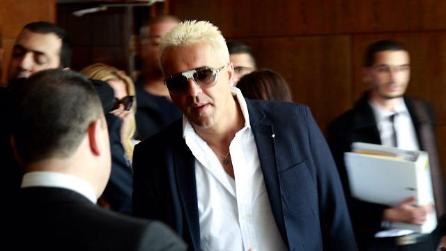 הורשע. קובי פרץ, בבית המשפט היום (צילום: מוטי קמחי) (צילום: מוטי קמחי)