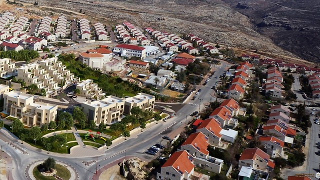 Kokhav Ya'akov, south of Ramallah in the West Bank (File photo: Z. F. Building)