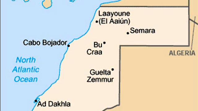 מפת האזור השנוי במחלוקת ()